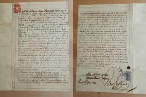 Singapore stamped paper revenues $2 1886 GB Consulate Manila Philippines Almeida