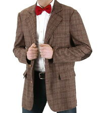 11th Doctor Who Matt Smith Tweed Jacket Licensed Replica Size LARGE/XL NEW