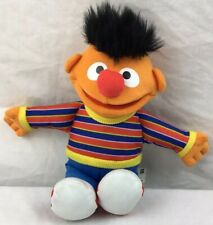 "Hasbro 2010 Sesame Street 10"" Ernie Plush Toy Stuffed Animal"