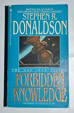 Forbidden Knowledge: The Gap Into Vision by Stephen R. Donaldson (1992, Book 2)