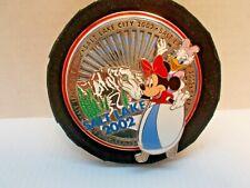 Disney Salt Lake City 2002 Olympics  JUMBO PIN MICKEY& DAISY  LE 750  Pin NEW c