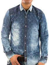 Unifarbene Rusty Neal Herren-Freizeithemden