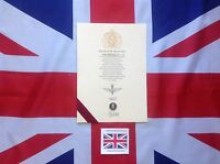 Oath Of Allegiance Parachute Regiment With Sovereign's Shilling (The Paras)