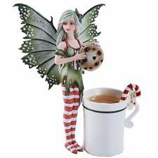 Amy Brown Christmas Cookie Elf Fairy Fantasy Art Figurine Collectible 5.75 inch