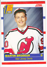 Martin Brodeur , 1990-91 , Score , Canadian , Rookie Card , #439