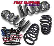"""Crown Suspension 1998-2002 Ford Expedition 3""""/4"""" Drop Lowering kit Coils Springs"""