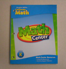 HM California Math GrK Math Center Resources 0618889035