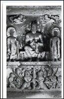 1960 INDIEN India KANHERI Cave Höhle Buddha Figur AK Asien Asia