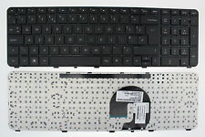 HP PAVILION DV7-4000  KEYBOARD UK LAYOUT AELX9E00310  594751-031 WITH FRAME F142