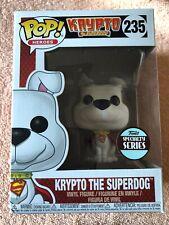 Krypto The Superdog Funko Pop Vinyl Figure #235 Superman Dog DC
