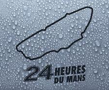 Le Mans French race circuit vinyl decal sticker graphic #1 - DEC1005