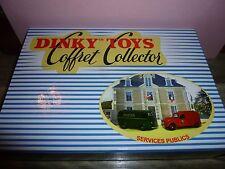 DINKY TOYS ATLAS = COFFRET COLLECTOR COMME NEUF = SERVICES PUBLICS - 25 B.D