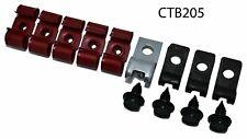 67-70 Chevy 2wd Truck Brake Line tube Clips clamp bracket kit Set Nos R Ctb205