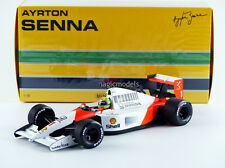 Minichamps McLaren MP4/6 World Champion 1991 Senna #1 1/18 Scale New Release!