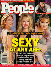 People 8/01,Sexy at Any Age,Jenna Elfman,Jane Seymour,Heather Locklear,NEW