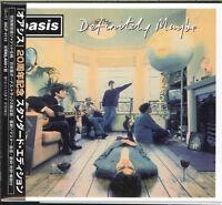 OASIS-DEFINITELY MAYBE-JAPAN MINI LP CD BONUS TRACK F30