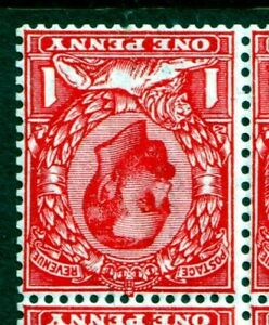N10(4)Wi 1d Deep Bright Scarlet UNMOUNTED MINT(567)