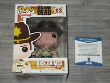 Andrew Lincoln Rick Grimes The Walking Dead SIGNED Funko Pop 13 COA BAS Comic tv