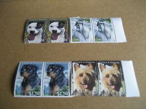 ANTIGUA & BARBUDA  2005  DOGS (AMERICAN PIT BULL,TERRIER,MALTESE DOG,ROTTWEILER,