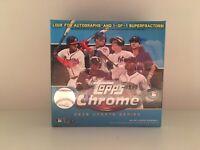 2020 Topps Chrome Update Series Baseball Blue Mega Box. New/Sealed