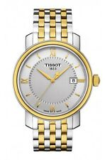 New Tissot Bridgeport Silver Dial Two-Tone Steel Mens Watch T0974102203800