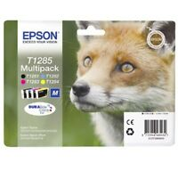 Epson T1285 Cyan Magenta Yellow Black for Stylus Office BX305F BX305FW Plus