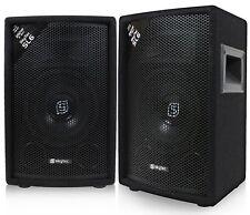 """COPPIA CASSE ACUSTICHE PASSIVE diffusori 500W no amplificate MOQUETTE """"deluxe"""""""