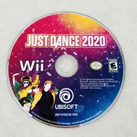 Just Dance 2020 Nintendo Wii Game Disc Only No Manual Case Rare HTF Disc is Mint