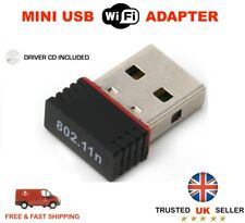 Mini USB WiFi Adapter 150 Mbps Wireless 802.11 B G N Red LAN Paquete de 50
