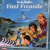 "FÜNF FREUNDE ""FÜNF FREUNDE IM FERNSEHEN (FOLGE 24)"" CD HÖRBUCH NEUWARE"