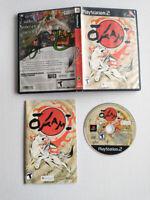 OKAMI (PlayStation 2 PS2) Complete Black Label Release CIB Capcom Clover Studios