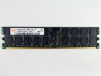 Hynix 4GB Server RAM DDR2 2Rx4 PC2-5300P-555-12 Arbeitsspeicher nicht für PC