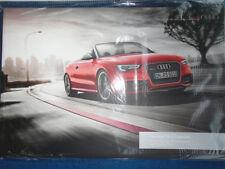 Audi RS5 Cabriolet range brochure May 2013
