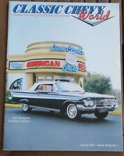 Classic Chevy World JANUARY 2002 Volume 28 Number 1, 1955 1956 1957 Chevrolet