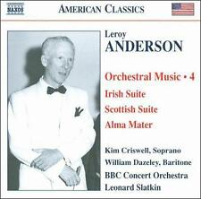 Leroy Anderson: Orchestral Music, Vol. 4, New Music