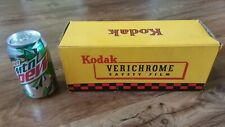 KODAK 620 VERICHROME SAFETY FILM CARDBOARD DISPLAY SIGN/box display 11x4 inches