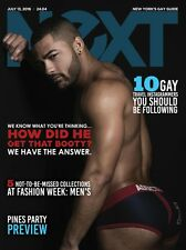 NeXT Magazine Fire Island Pines Party Get That Ass VLADONNA Doll JUL 2016 Gay