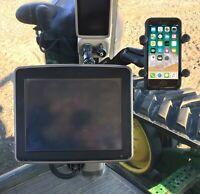 Phone Holder for John Deere 2600 or 2630 Display | Complete Kit, No Drilling