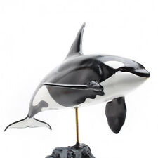 KAIYOUKOUBOU Killer Whale Excellent Fish Carving figure Orcinus orca Real Toy