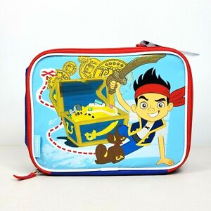 Captain Jake & The Neverland Pirates Thermos Insulated Soft Zip Lunch Box Disney