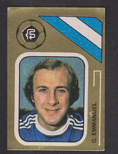FKS - Soccer Stars 78/79 Golden Collection - # 34 Gary Emmanuel - Birmingham