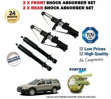 FOR VOLVO XC70 CROSS COUNTRY AWD D5 2000-2007 2x FRONT & REAR SHOCK ABSORBER SET