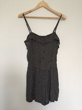 Jay Jays Black Playsuit / Romper, Size 8, Pre-owned