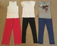 BNWT Girls Zara Long Sleeves T-Shirts Leggings Cardigan Size 11-12 Years