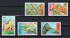 CAMBODGE 1999 ANIMAUX PREHISTORIQUES DINOSAURS PREHISTORIC STAMPS MNH CTO