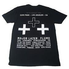 (M) AIR+STYLE Major Lazer Black Shirt Los Angeles Music Festival Marian Hill