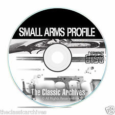 Profile Publications Small Arms - 22 Volumes - Antique Gun History CD DVD B55