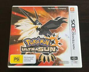 Nintendo POKEMON ULTRA SUN 3DS game (FREE POST OPTION)