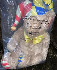"VHTF Artapower ""Juggles The Clown Bear"" NEW 20"" Plush Stuffed Animal"