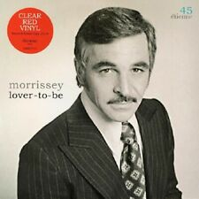 """MORRISSEY Lover To Be - 7"""" / Red Vinyl / RSD 2019 (The Smiths)"""